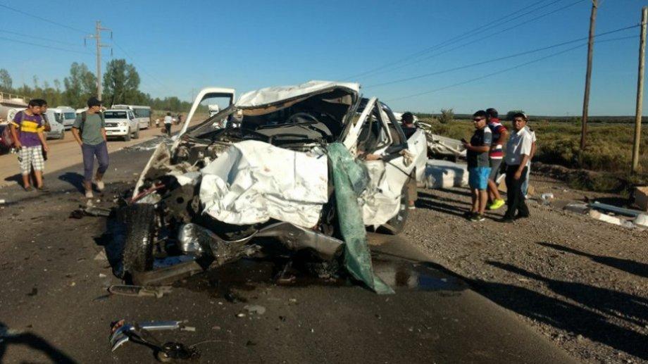 El siniestro ocurrió el 19 de enero de 2018 en sobre la Ruta Provincial 7. (Foto: Archivo.-)