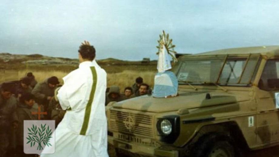 La restitución de la imagen se concretó el 30 de octubre en el Vaticano. Foto: Gentileza