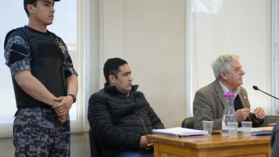 Carlos San Martín  fue condenado por intento de femicidio, daño y amenazas contra su expareja. Archivo