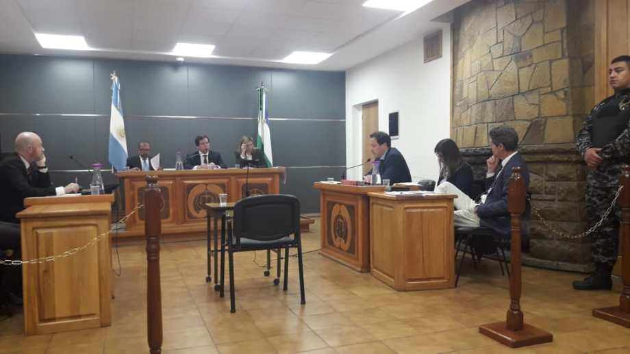 La audiencia con los alegatos de los fiscales y el defensor del acusado se hizo el viernes. (Foto: Gentileza)