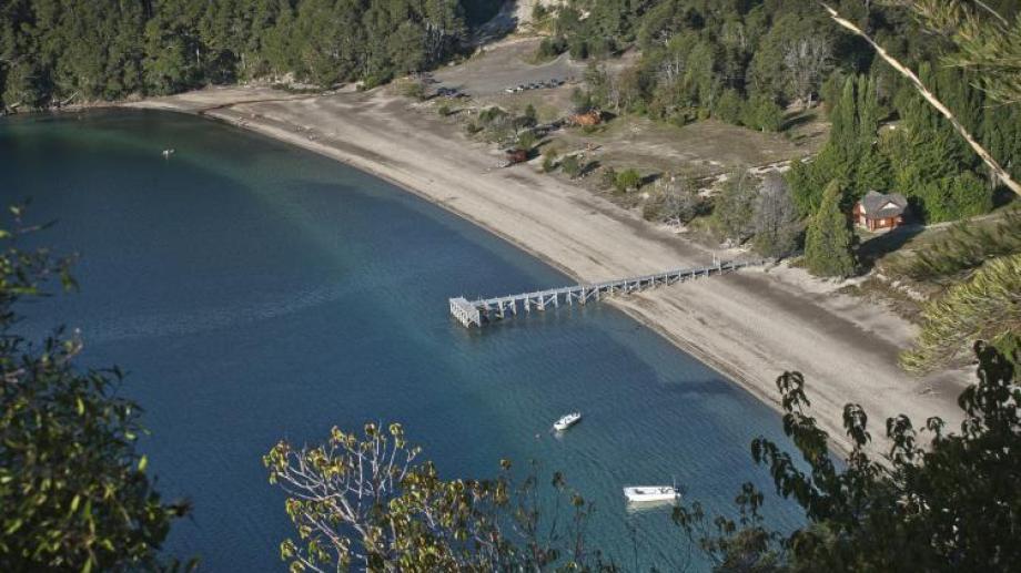 Por el aumento de roedores cerraron el balneario del lago Espejo. (Foto: archivo)