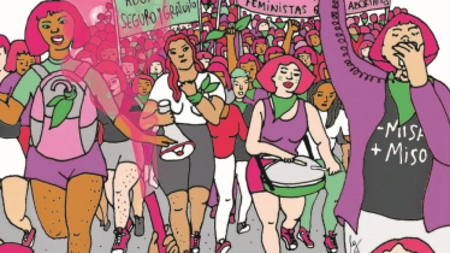 Las ilustraciones son de Lucía Garrido.