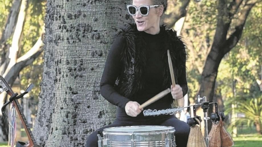 Mariana Masetto llega a Bariloche, con un workshop y un concierto este sábado. Foto: gentileza
