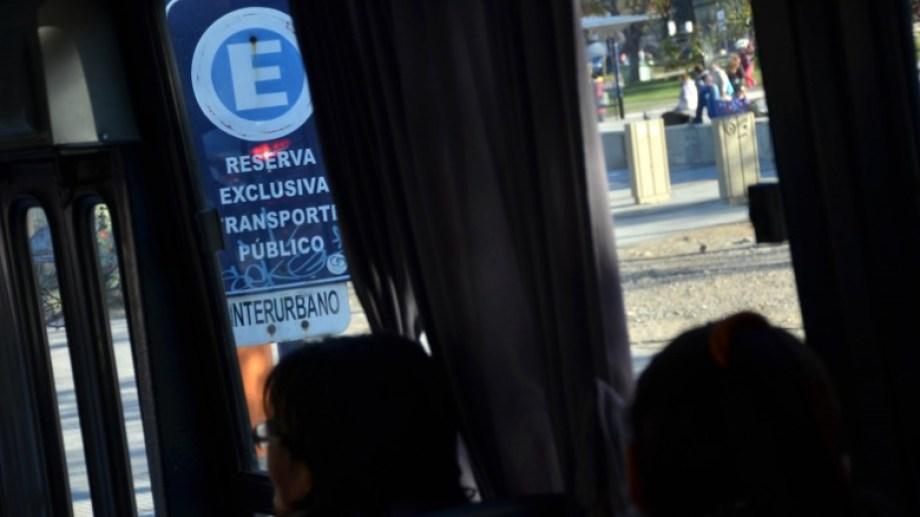 El servicio de transporte interurbano costará mas. Foto: Archivo Matías Subat