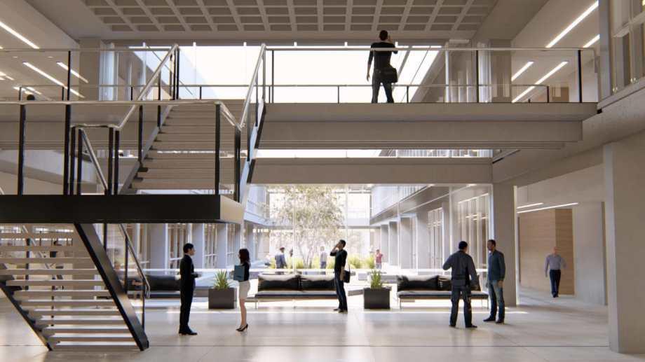 El proyecto para construir la nueva municipalidad de Cipolletti está listo. Foto: Gentileza