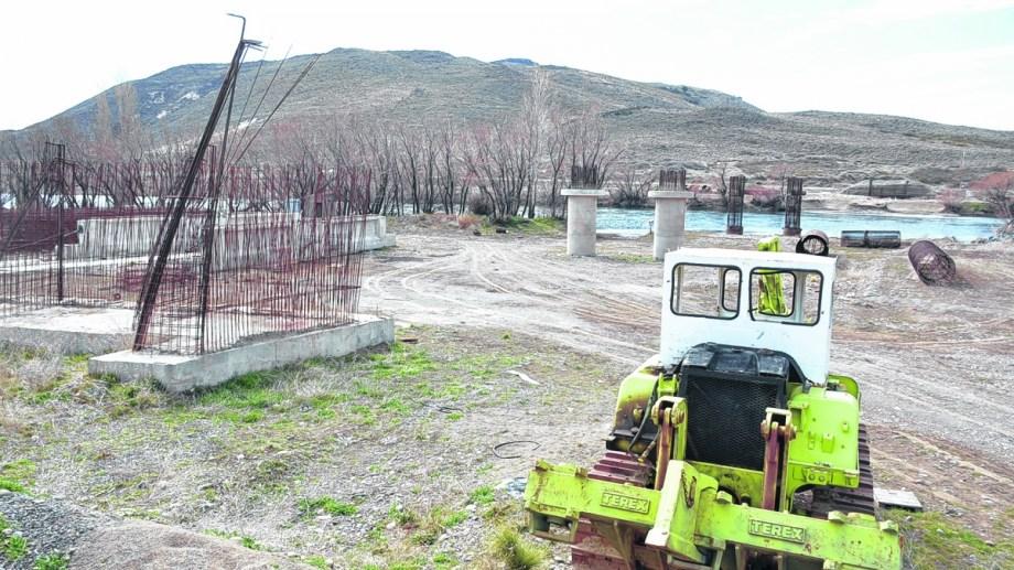 Las obras nunca pudieron finalizarse en 12 años. Hace tres décadas comenzó el proyecto. Foto: Patricio Rodríguez.