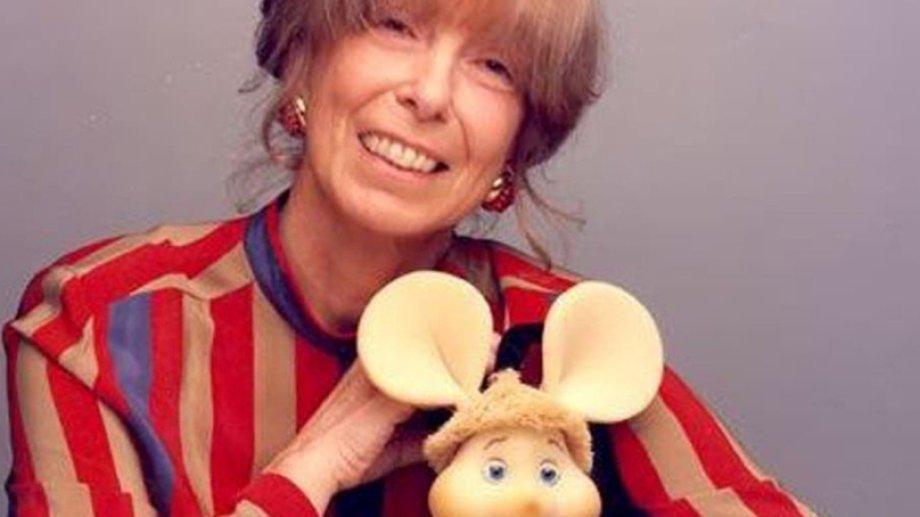 María Perego, creadora del popular Topo Gigio. Foto: Clarín