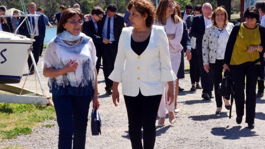 La gobernadoira electa continúa con el armado de su gabinete. Foto: Marcelo Ochoa