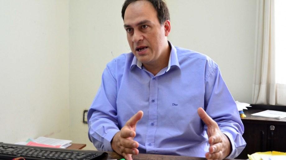 Miguel Cruz será el viceministro de Economía de Río Negro. Foto: Marcelo Ochoa.