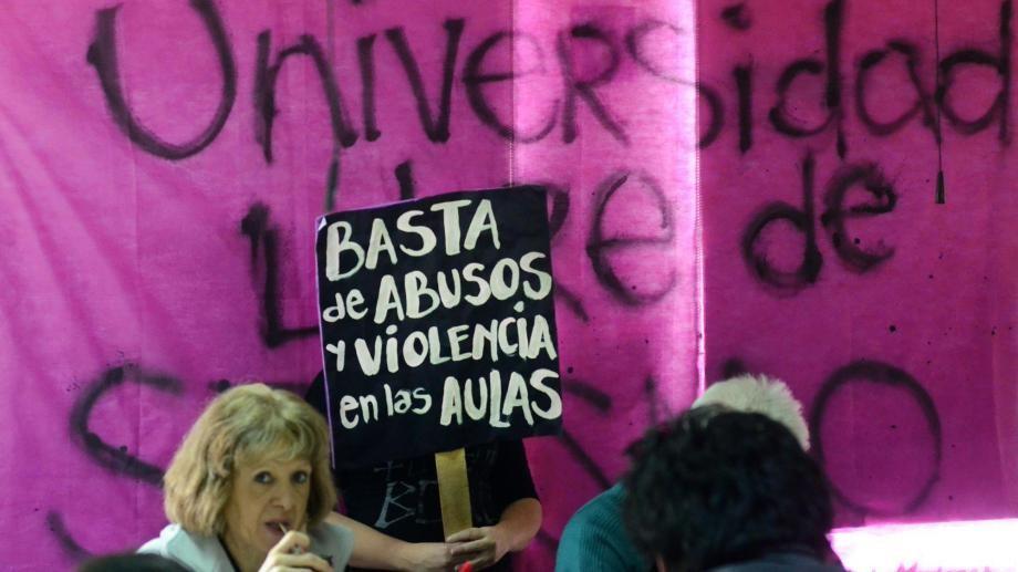 El Protocolo de Intervención Institucional ante denuncias por situaciones de violencia sexista en el ámbito de la Universidad Nacional del Comahue fue aprobado en 2014. Foto archivo.