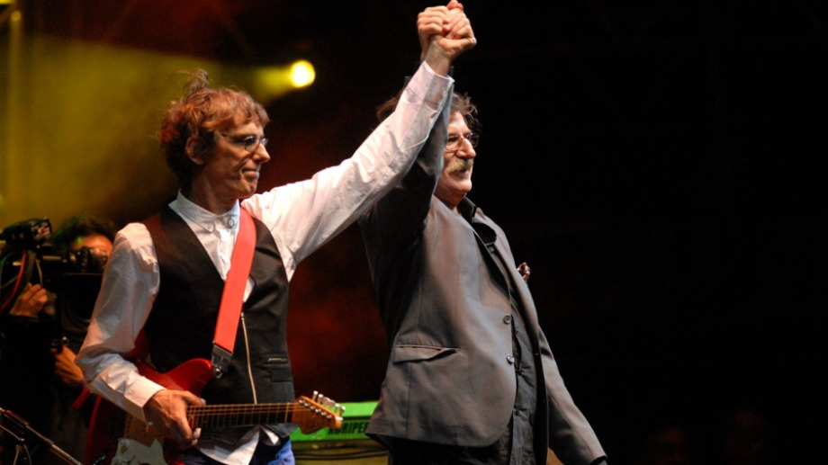 Luis, Charly y uno de los momentos más emotivos de la noche de Liniers.