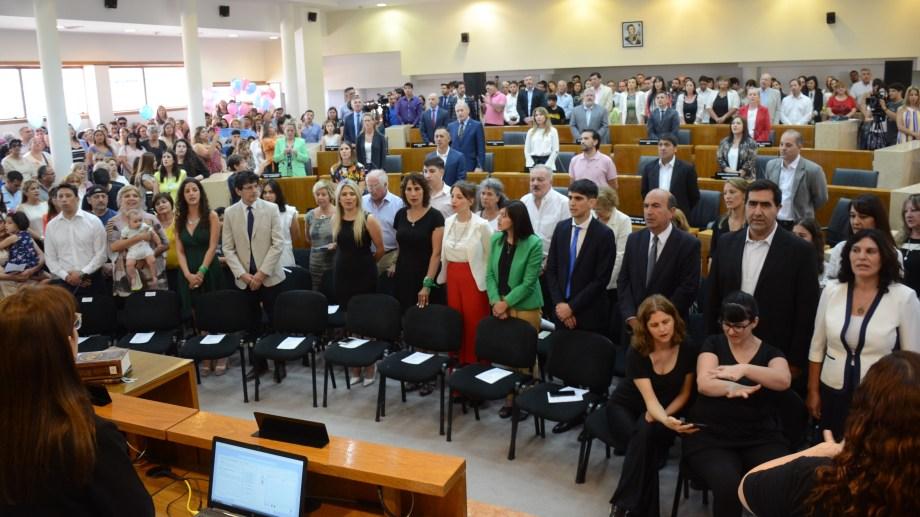 El recinto del  Concejo Deliberante de Neuquén. Foto: Yamil  Regules