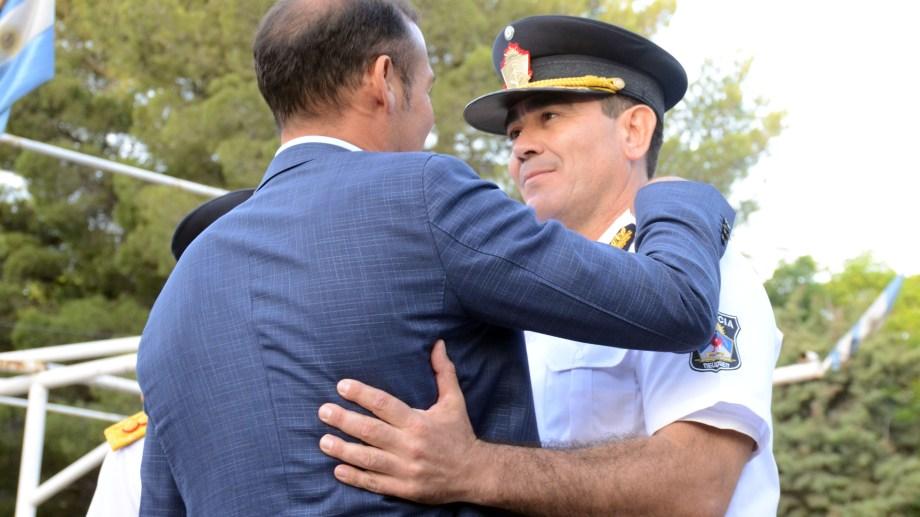 Julio Peralta asumió el jueves 12 como nuevo titular de la fuerza policial. Foto Yamil Regules
