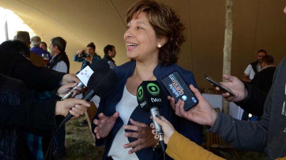 La gobernadora electa Arabela Carreras define el plan de obras a pocos días de asumir su mandato. Foto: Alfredo Leiva