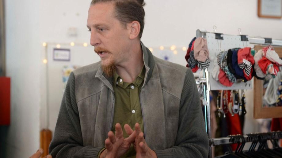 Joaquín De Bento asumió en la Subsecretaría de Cultura de Bariloche. Foto: Alfredo Leiva