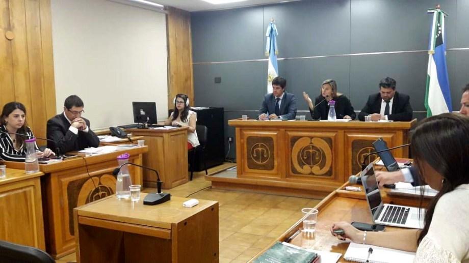 La audiencia se llevó a cabo esta mañana en Tribunales. Foto: Alfredo Leiva