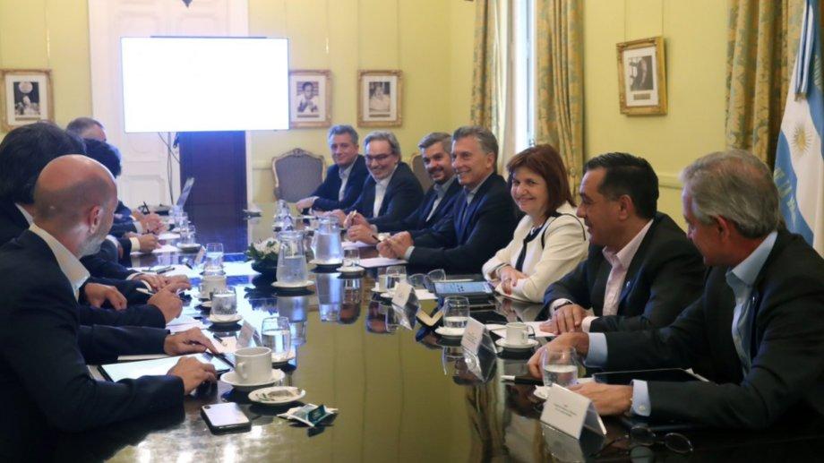 Última reunión de gabinete de la gestión de Mauricio Macri.