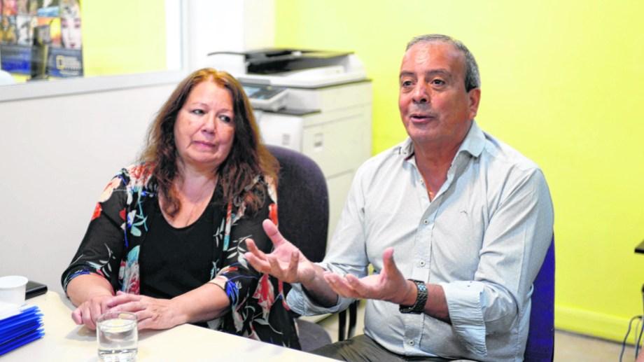 Castañón defendió su gestión en la empresa de televisión por cable de la CEB. (Foto: Alfredo Leiva)
