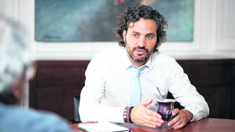 Santiago Cafiero, jefe de Gabinete, encabezaba el encuentro. Foto: Archivo.