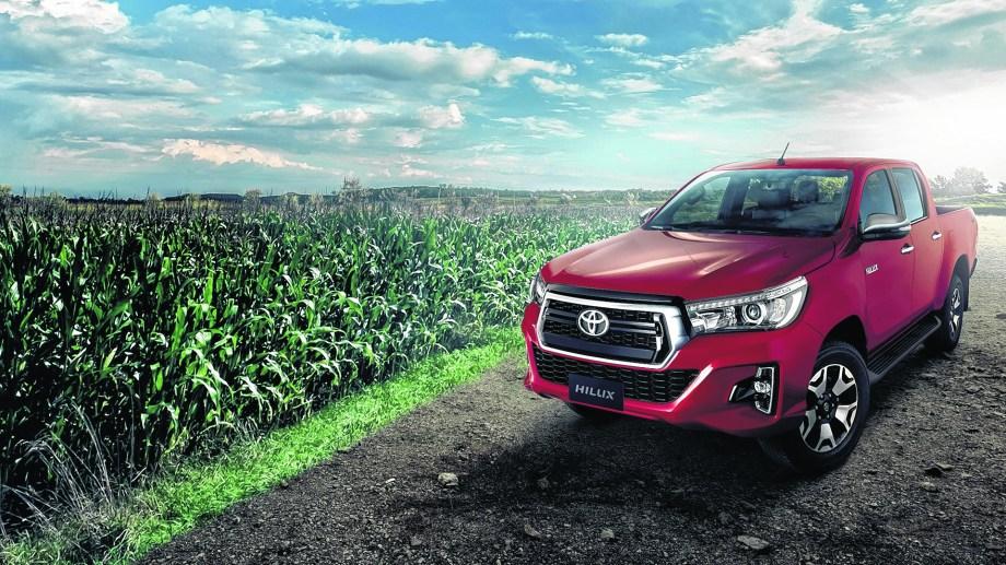 Toyota Hilux lidera ventas en Argentina.