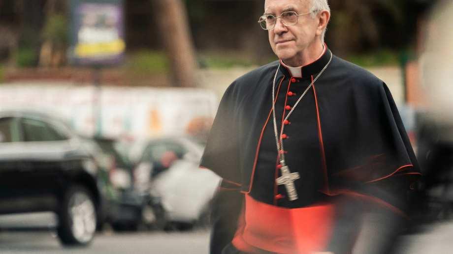 El discurso político de Bergoglio es lo que más le interesa a Jonathan Pryce.