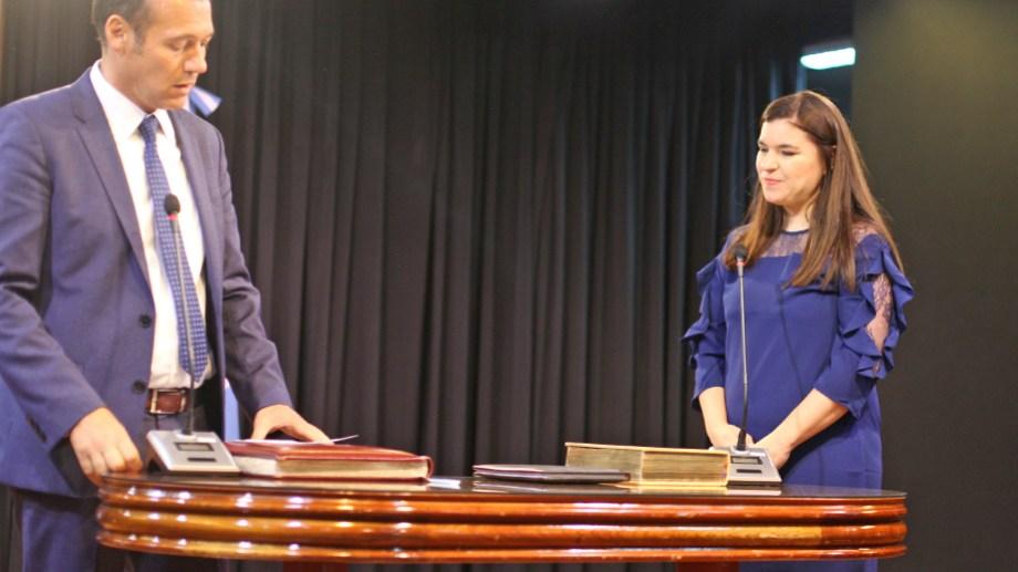 Merlo había jurado en abril de este año como ministra de Ciudadanía. Foto: archivo.