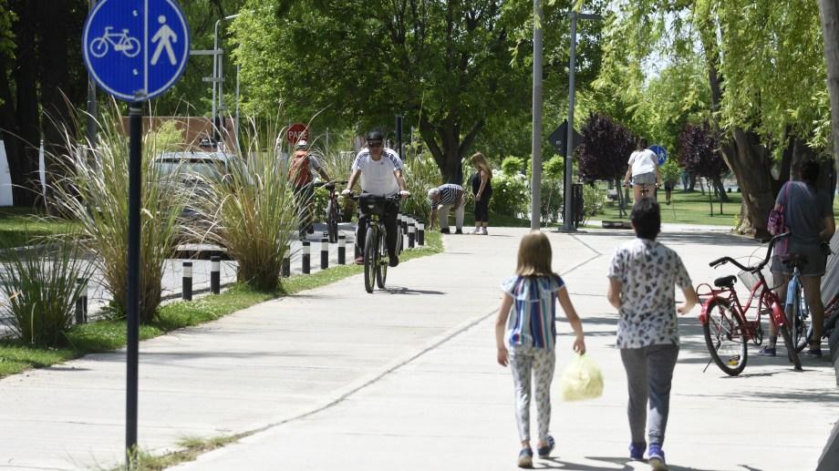 Sólo se podrá acceder caminando a la zona balnearia. Foto: archivo.