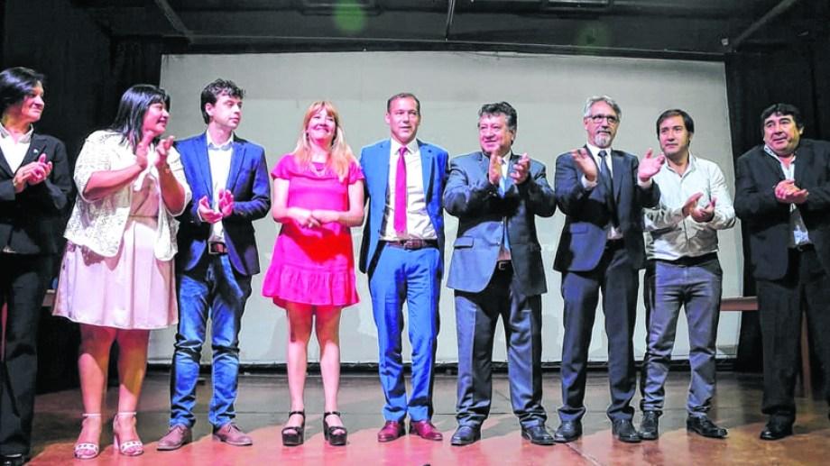 El mandatario provincial estuvo en Chos Malal. Participó de la asunción de Hugo Gutiérrez con quien estuvo distanciado.