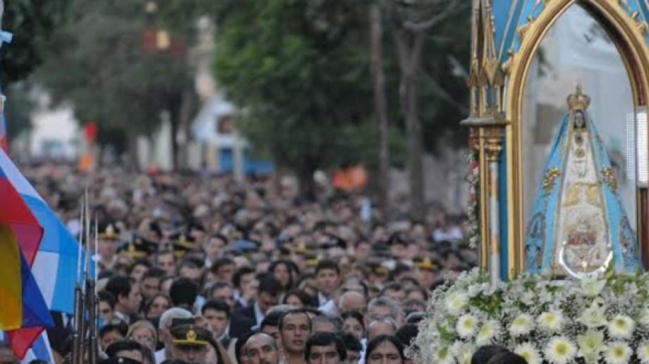 Procesión de la Virgen del Valle en Catamarca