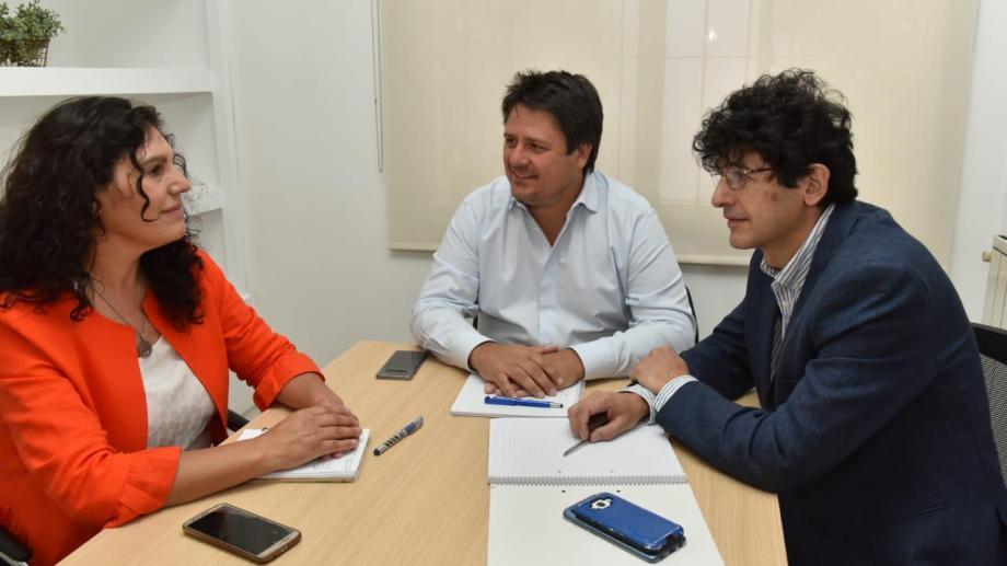 Argumero y Sguazzini serán los representantes de Gaido en el Deliberante de Neuquén. (Gentileza).-