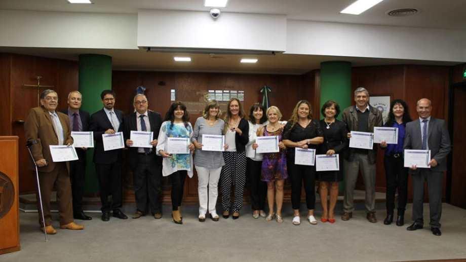 Los reconocimientos se realizaron en las cuatro circunscripciones de Río Negro. Foto: Gentileza.