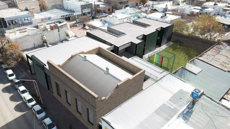 El predio será utilizado en su totalidad. El proyecto contempla unos 1.500 metros cuadrados cubiertos.