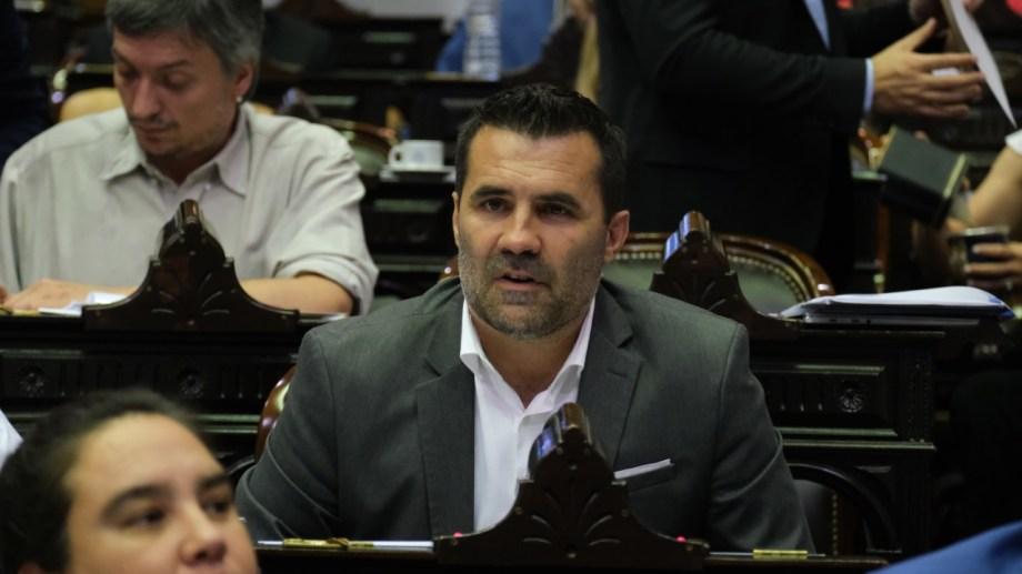 El legislador nacional Darío Martínez fue miembro informante del proyecto de emergencia económica. Foto: Gentileza