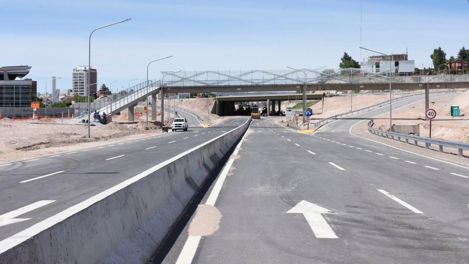 Se busca mejorar la circulación entre el ingreso norte y el centro de la ciudad. Fotos Florencia Salto