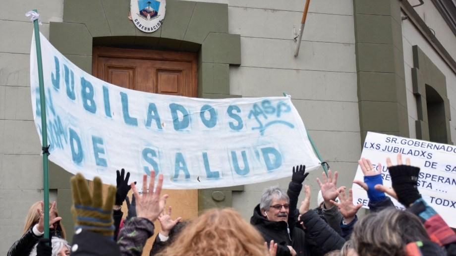 El sector inició las protestas hace un año y medio. Foto: archivo.