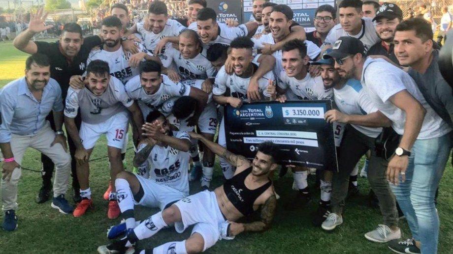 Los ingresos por llegar a la final significaron un gran aporte para Central Córdoba.