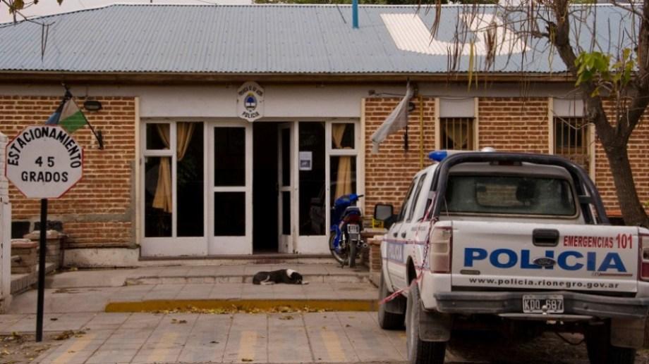 El hombre fue asistido en la sede de la Comisaría 21. (foto: archivo)
