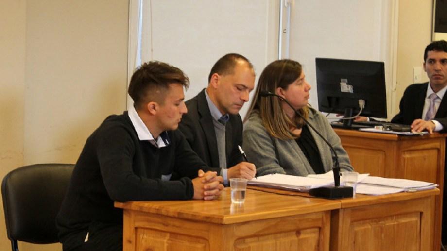 Lampasona, el coordinador estudiantil fue llevado a juicio el año pasado. Archivo