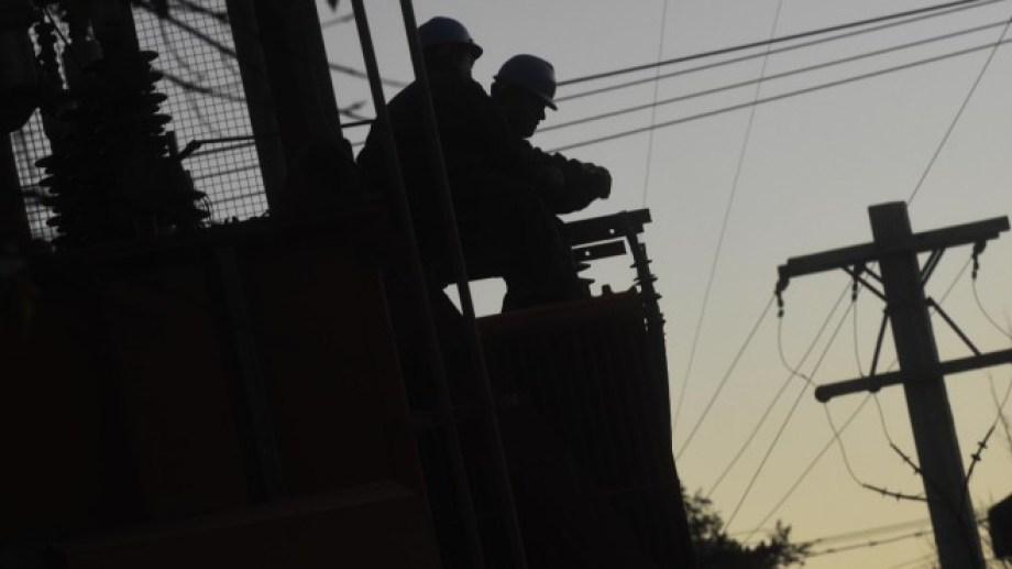 La interrupción del servicio eléctrico se registró esta mañana. Archivo