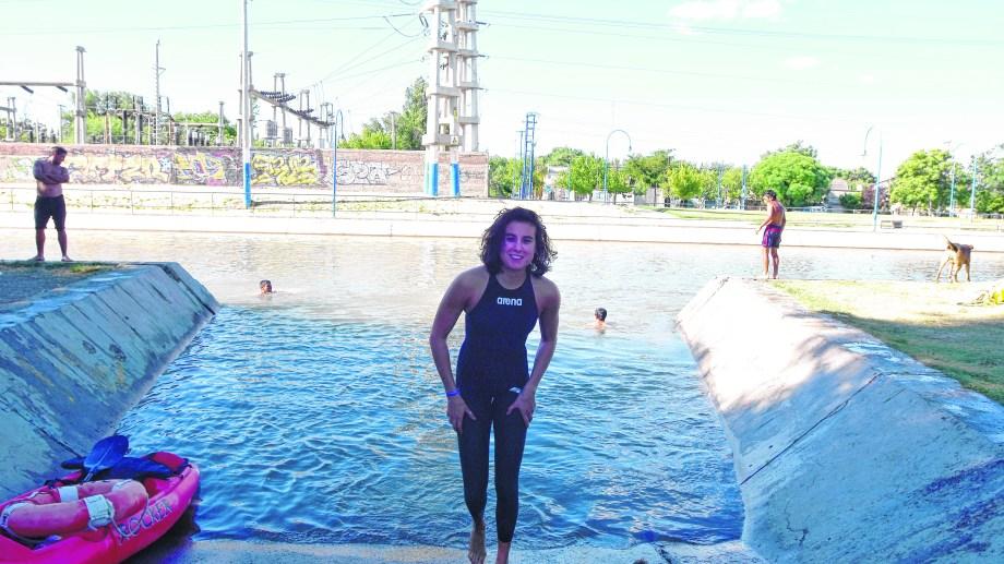 Como ya es tradición, Daira Marín estuvo presente en el Desafío al Canal Grande.