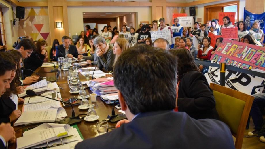 La declaración de emergencia alimentaria se aprobó ayer en la última sesión del Concejo Municipal. Foto:  archivo