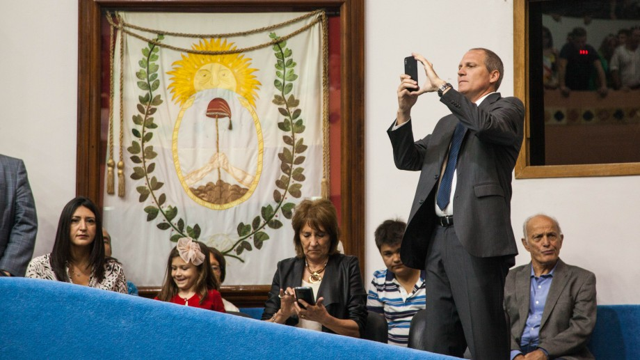 Palmieri asumió como vicegobernador- Foto: Marcelo Ochoa.