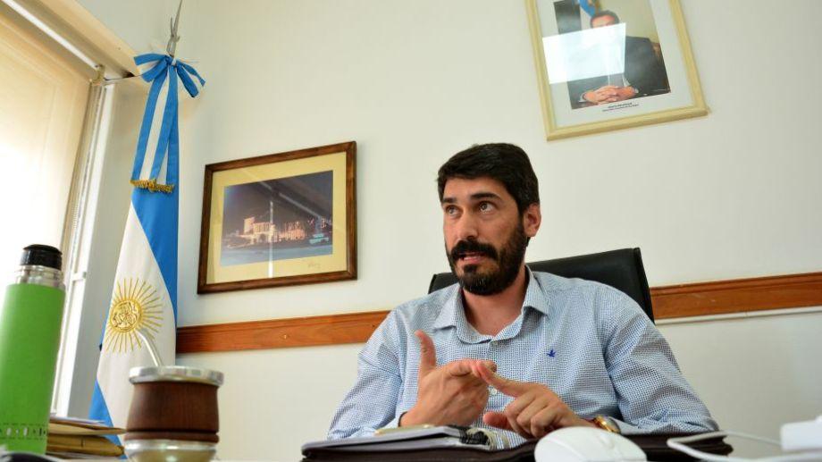 El ministro Nicolás Land, en diálogo con RÍO NEGRO. Foto: Marcelo Ochoa.-