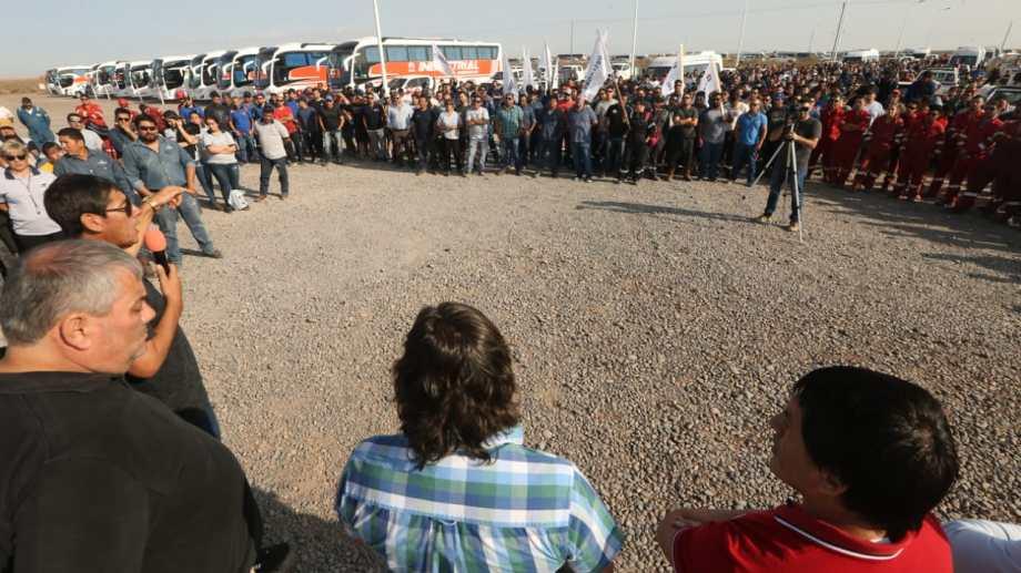 Además de Añelo, el gremio realizó asambleas en Catriel, Rincón de los Sauces y Plaza Huincul. Foto: archivo.