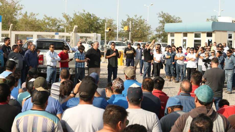 En las cuatro asambleas que realizó el gremio se repitió el caso de Petrogas.