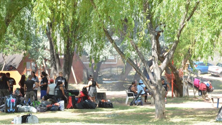 Los campings en Neuquén quedarán habilitados inclusive para las localidades que permanecen en la fase de ASPO. (Foto: archivo Yamil Regules)