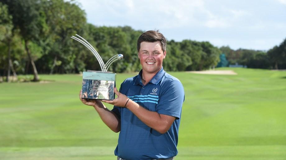El joven clasificó al Masters de Augusta y al Abierto Británico.