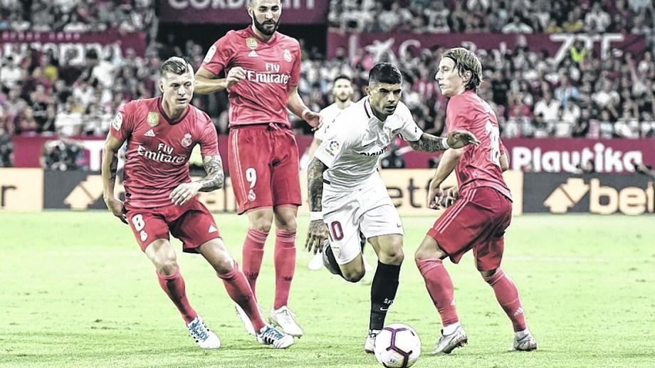 Éver Banega es referente en el equipo andaluz.