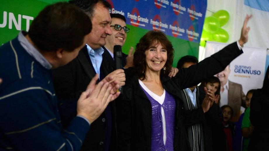 Viviana Gelain es la única imputada en la causa que investiga una nómina de aportantes truchos a la campaña de Gennuso de 2015. Archivo
