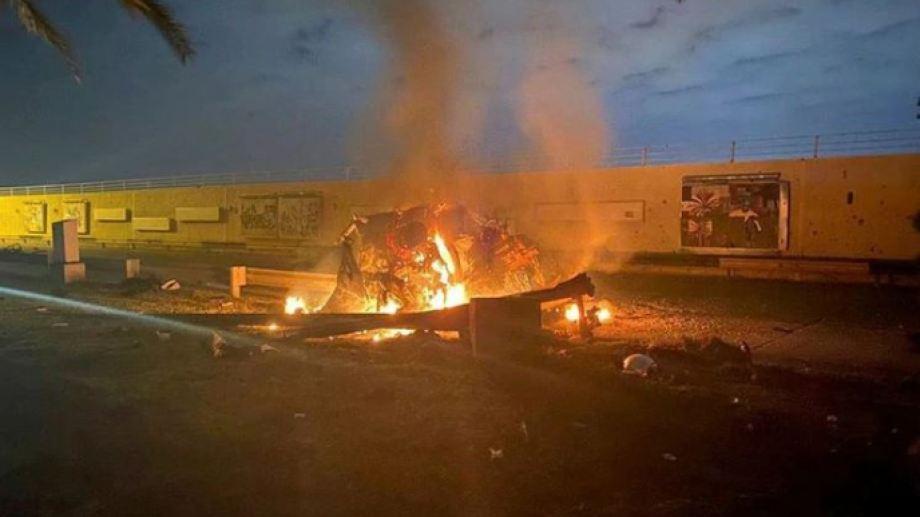 El ataque al general Soleimani ocurrió el jueves pasado.